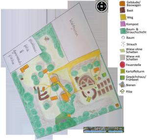 Pflanzgarten Karte