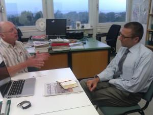 Treffen mit Prof.Dr. Uwe Schneidewind