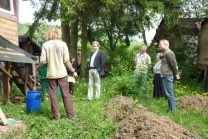Funktionsweise der selbstgebauten Komposttoilette
